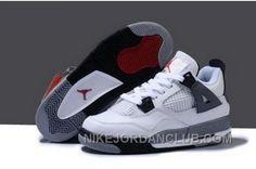 http://www.nikejordanclub.com/wholesale-hot-sell-discount-nike-air-jordan-4-iv-retro-womens-shoes-white-grey.html WHOLESALE HOT SELL DISCOUNT NIKE AIR JORDAN 4 IV RETRO WOMENS SHOES WHITE GREY Only $95.00 , Free Shipping!