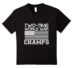 Amazon.com: RedNek Tees: Two Time World War Champs: Clothing