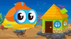 Cartoni animati per bambini: Oscar il sottomarino e la casa