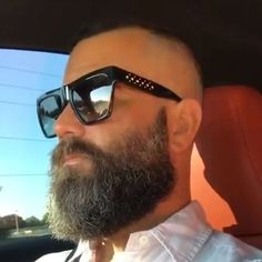 Love the beard and shades.