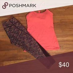 Power Y Tank Worn a few times but no signs of it.  Still in excellent condition. lululemon athletica Tops Tank Tops