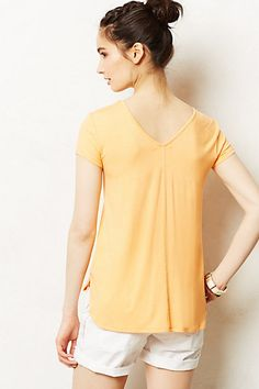Insp. for tees (v neck in back, and center seam)