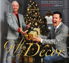Colin and Justin in NICHE magazine Holiday Issue Perspective, Magazine, Deco, Holiday, Gifts, Fictional Characters, Design, Vacations, Presents