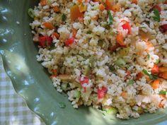 insalata di riso {rice salad} - Elizabeth Minchilli in Rome