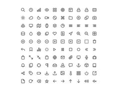 100 Feather Line Icons Pack - http://www.dawnbrushes.com/100-feather-line-icons-pack-2/