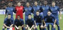 Seleção francesa. 13/05/2014.