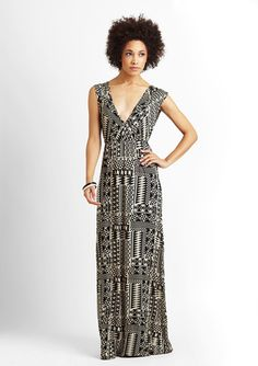 another fabulous printed maxi