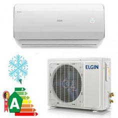 dab07f556 Ar Condicionado Split Elgin Eco Power 12000 Btus R-410 Frio 220v