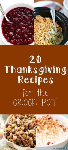 Crock Pot Thanksgiving Recipes Easy Thanksgiving recipes you can make ahead of time!Easy Thanksgiving recipes you can make ahead of time! Thanksgiving Potluck, Easy Thanksgiving Recipes, Fall Recipes, Holiday Recipes, Holiday Foods, Holiday Desserts, Thanksgiving Foods Sides, Traditional Thanksgiving Recipes, Friends Thanksgiving