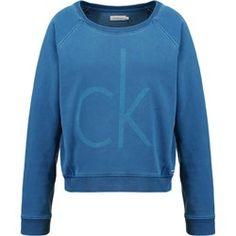 3fdfe7ccc03fb Modne i wygodne bluzy damskie. Calvin Klein Jeans JUISA Bluza blue