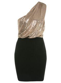 petites rose gold sequin dress // miss selfridge // $68.00 // craving something shiny for the holidays...