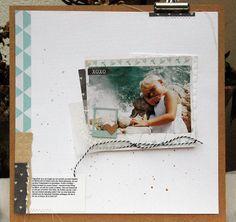 Schöne Dinge aus Papier: Zurück mit einem Layout