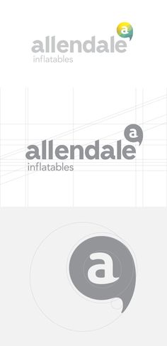 Allendale Inflatables - Logo Design by Alex Pabian