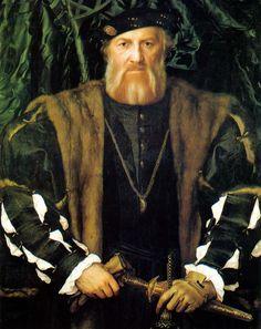 Портрет Шарля де Солье. 1534-35 гг. Ганс Гольбейн Младший