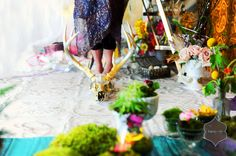 Floral decor by Mobtown Florals ~ Photography by Alana Beall of Vanity's Edge Design