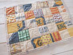 Fabric and stitching - gorgeous handmade*zakka | fabrickaz+idees