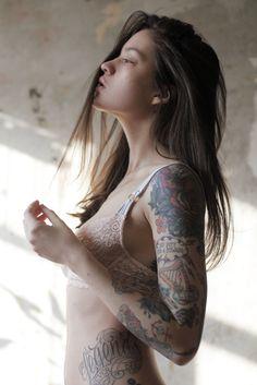 Ink girl.