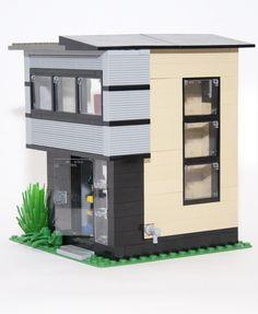 Lego Boards, Lego Construction, All Lego, Lego Modular, Cool Lego Creations, Lego Design, Lego Architecture, Lego House, Lego Projects