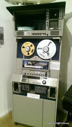 Video Tape Recorder ( SONY BVH-2000) @ Channel 9 Perth