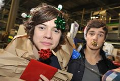 christmas presents? liam payne, harry styles..I will happily except these presents,thank you very much.