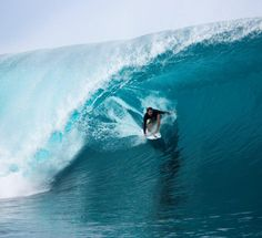 Alex Gray in Teahupoo // Photo by Seth DeRoulet