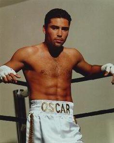 "Oscar De La Hoya (born February 1973 in East Los Angeles, California) is a retired Mexican American boxer. Nicknamed ""The . Kickboxing, Muay Thai, Jiu Jitsu, Ufc, Boxe Mma, American Boxer, The Golden Boy, Boxing Champions, Sports Figures"