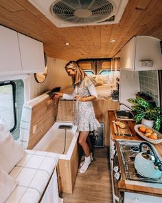 """Vanlife   Adventure   Buslife on Instagram: """"Having a tiny tub inside your converted Mercedes Benz Sprinter is already a luxury (and can we wonder out loud how does one avoid spilling…"""" Van Conversion Interior, Camper Van Conversion Diy, Van Interior, Van Conversion Shower, Van Conversion Plans, Kombi Interior, Motorhome Interior, Sprinter Conversion, Build A Camper Van"""