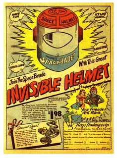 Get Your Invisible Space Helmet