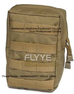 Flyye C018 1000D CORDURA Waterproof Nylon Fabric Tactical Molle Pouch Molle Gear Bag Pouchs Pocket Tools Pouch Tool Bags