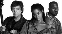 Paul McCartney, Kanye West & Rihanna Shock Music Industry With 'FourFiveSeconds'