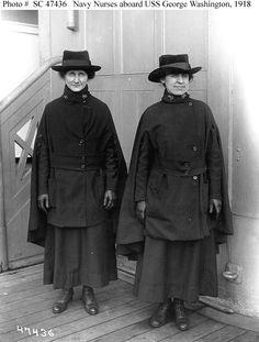 Navy nurses 1918