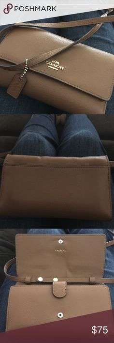 Spotted while shopping on Poshmark: Coach crossbody wallet! #poshmark #fashion #shopping #style #Coach #Handbags