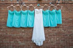 Fort Worth Wedding Venue | Artspace 111 | Dresses | Melissa Glynn Photography #Artspace111 #fortworth #wedding  #gardenwedding  #texaswedding #fallwedding #turquoise #bridesmaid #dresses #shortdress