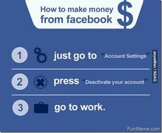 How to make money from Facebook...