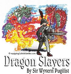 FREE Dragon Slayers Progress Report  Great Sacrament Gift!  Equipping Catholic Families
