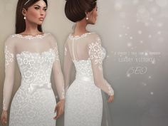 https://flic.kr/p/ZcCEHs   BEO - Luxury Victoria wedding gown   For The Trunk Show  October 19th - November 18th  TAXI  TAXI (After the event)  100% Original Mesh For Maitreya Lara Body Two styles - a tail can be pull off