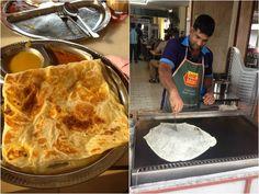 Malasia - Roti - Street food - comida callejera - El Sabor de lo Bueno - www.sabordelobueno.com