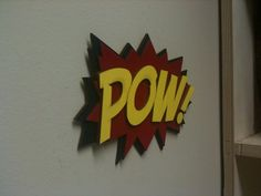 Comic  Marvel themed room. Fitting for a boy named Reed.