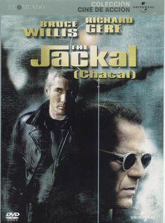 Chacal (Bruce Willis), es un asesino muy peligroso con la misión de eliminar a un alto cargo del gobierno norteamericano. Declan Mulqueen (Richard Gere), un mafioso que se encuentra entre rejas, es el único que puede detenerle.  Consultar disponibilidad http://absys.asturias.es/cgi-abnet_Bast/abnetop?ACC=DOSEARCH&xsqf01=jackal+willis+gere