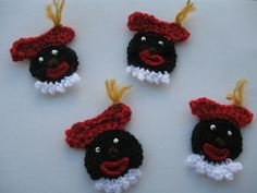 Crochet and knitting  zwarte piet