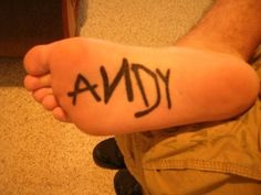 Very cool tattoo. I don't know how well a tattoo on the bottom of the foot would hold up but cool none the less
