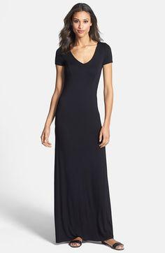 FELICITY & COCO Lattice Back Jersey Maxi Dress (Regular & Petite)(Nordstrom Exclusive) | Nordstrom