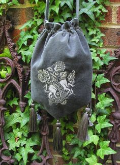 Medieval Beast Purse by medievalmuse on Etsy