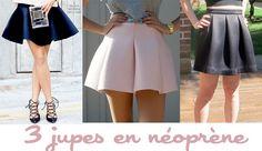 3 idées de jupes en néoprène