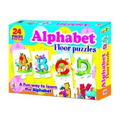 This Alphabet floor puzzles helps your toddlers to English Alphabets and new words. This is a fun way to learn the Alphabets.