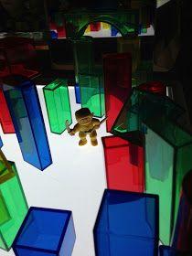 Light Table Play Blocks