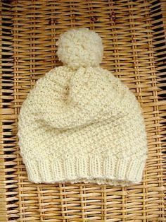 Knitted beanie Siskoneule: Pihla-pipon ohje