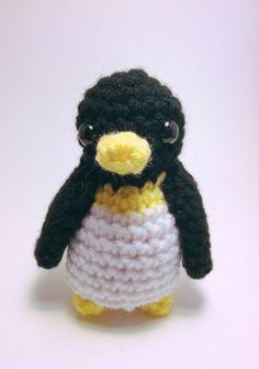 Crochet Pocket Penguin by GracesCraftyCritters on Etsy