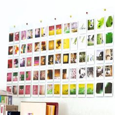 Wall Pocket Photo Album Polaroid Fujifilm Instax Mini Film Holder