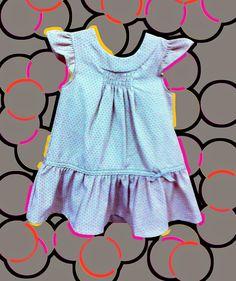 Vestidito de lunares...Moda Infantil | Figi's